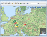 CRM Heatmap Geomarketing CAS genesisWorld tn