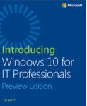 Introducing Windows 10 IT Professionals