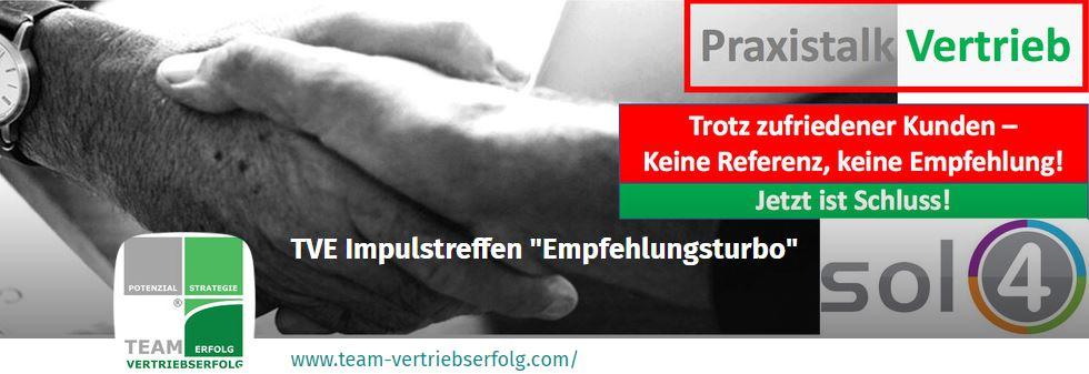TVE-Impulstreffen: Empfehlungsturbo